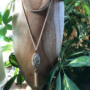 Jewelry - Long tassel necklace.